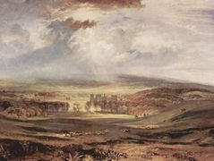 Raby Castle, Residence of the Earl of Darlington — William Turner