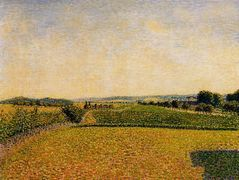 Railroad to Dieppe – Camille Pissarro