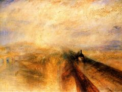 Rain Steam and Speed, The Great Western Railway — William Turner