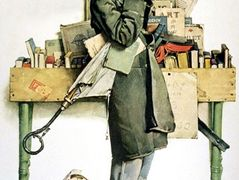Reading Book – Norman Rockwell