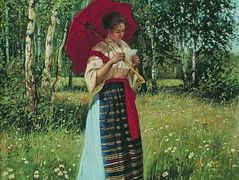 Reading the Letter – Nikolay Bogdanov-Belsky
