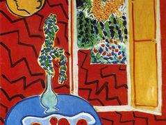 Red Interior. Still Life on a Blue Table – Henri Matisse