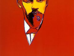 Red Lenin — Andy Warhol