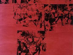 Red Race Riot — Andy Warhol
