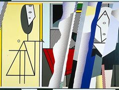 Reflections on the artist's studio – Roy Lichtenstein