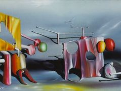 Reply to Red – Yves Tanguy