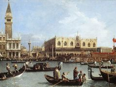 Return of the Bucentoro to the Molo on Ascension Day – Canaletto