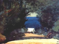 Road in Bermuda – Winslow Homer