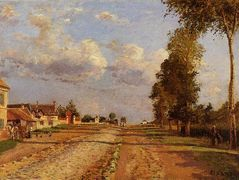 Road to Racquencourt – Camille Pissarro