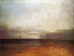 Rocky Bay with Figures – William Turner