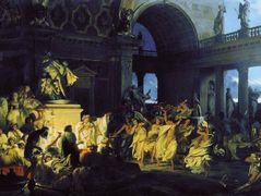 Roman Orgy in the Time of Caesars – Henryk Siemiradzki