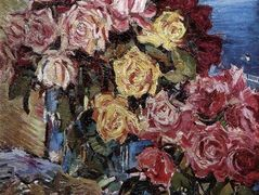 Rose against the sea  – Konstantin Korovin