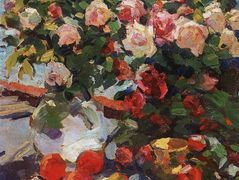 Roses and Fruit  – Konstantin Korovin
