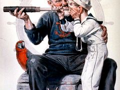 Sailors – Norman Rockwell