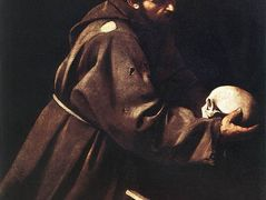 Saint Francis in Prayer – Caravaggio