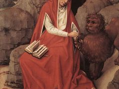 Saint Jerome and the Lion – Rogier van der Weyden