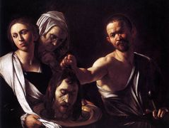 Salome with the Head of John the Baptist — Caravaggio
