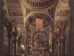 San Marco: the Interior – Canaletto