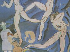 Satirical Composition ('The Dance' by Matisse) – Salvador Dali