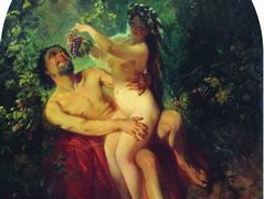 Satyr and Nymph – Konstantin Makovsky