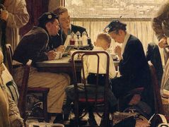 Saying Grace – Norman Rockwell