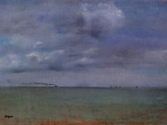 Seascape — Edgar Degas