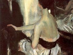 Seated Actress with Mirror  – William James Glackens
