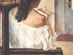 Seated Girl Seen from the Back – Salvador Dali