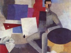 Seated man – Roger de La Fresnaye