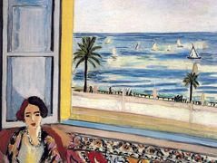 Seated Woman, Back Turned to the Open Window – Henri Matisse