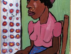 Seated Woman in Pink Blouse – William H. Johnson