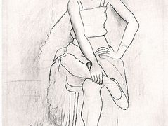 Seated woman (Olga) — Pablo Picasso