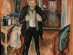 Self-Portrait (in distress) — Edvard Munch