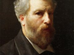 Self-Portrait Presented To M. Sage – William-Adolphe Bouguereau