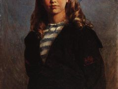 Serezha (Portrait of Son in Sailor Suit) – Konstantin Makovsky