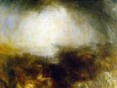 Shade and Darkness, The Evening of The Deluge — William Turner