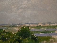 Shinnecock Hills (A View of Shinnecock) — William Merritt Chase