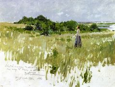 Shinnecock Hills, aka A View of Shinnecock – William Merritt Chase
