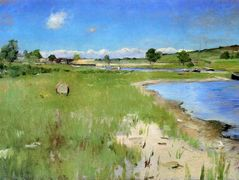 Shinnecock Hills from Canoe Place, Long Island – William Merritt Chase