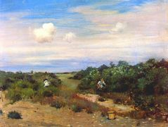 Shinnecock Hills, Long Island — William Merritt Chase