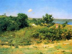 Shinnecock Hills, Peconic Bay — William Merritt Chase