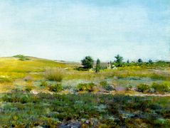 Shinnecock Hills, Summer — William Merritt Chase