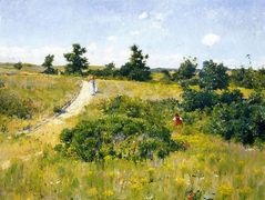 Shinnecock Landscape with Figures — William Merritt Chase