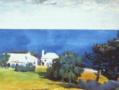 Shore at Bermuda – Winslow Homer