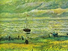 Shores of Scheveningen – Vincent van Gogh