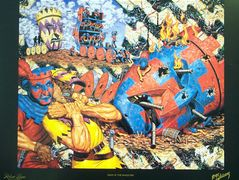 Siege of the Masquers – Robert Williams