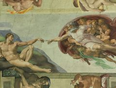 Sistine Chapel Ceiling: Creation of Adam – Michelangelo