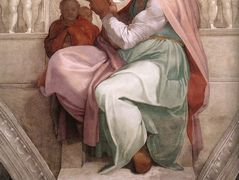 Sistine Chapel Ceiling: The Persian Sibyl — Michelangelo