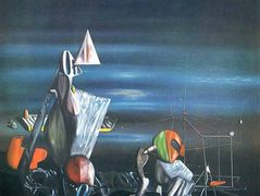 Slowly Toward The North — Yves Tanguy
