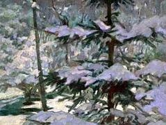Snow in the Morning – Nikolay Bogdanov-Belsky